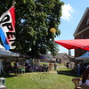 For four hours each week, shoppers can take in some outdoor shopping at the Farmers Market at Fairfield Hills. Now in its 13th season, the Newtown event continues to offer fresh fruits and vegetables, baked goods, flowers, organic lemonade and iced tea, plants, jewelry, essential oils, and more. Regular participants include Beldotti Bakeries. (Hicks photo)