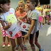"Children played a few rounds of ""Red Light, Green Light"" on August 3, the first day of the second session of Safety Town. Each day featured lessons in personal safety, often hidden within games, storytime, and crafts. (Hicks photo)"