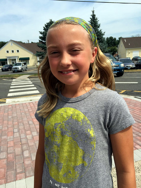 The Newtown Bee: Which cartoon character would you choose to be president of the United States of America? Chloe Karnas: Patrick Star. (Cox photo)