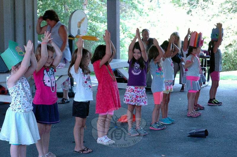 "Treadwell ages 5 to 6 girls performed ""Let it Go"" from Disney's Frozen. (Hallabeck photo)"