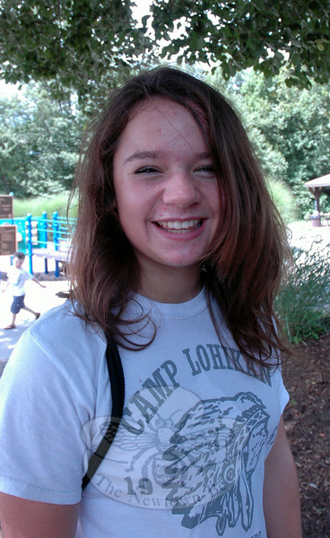 The Newtown Bee: If you could change your name what would it be? Kelsey Peterson: I would keep my name. (Gaston photo)