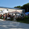 Vendors were situated during the 2015 Newtown Yoga Festival in the NYA Sports & Fitness Center's courtyard. (Hallabeck photo)