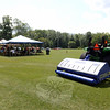 Field maintenance and aeration machinery demonstrations took place August 19 at Oakview field on the corner of Wasserman Way and Oakview Drive. People from nearby towns with an interest in mu-nicipal field maintenance were invited to visit a site recently improved and upgraded through Public Works and Parks and Recreation Department staff. Those in attendance gathered for lunch under an awning around noon. (Bobowick photo)
