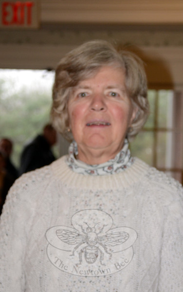 The Newtown Bee: The world would be a better place if… Mary Goebel: People respected each other. (Hallabeck photo)