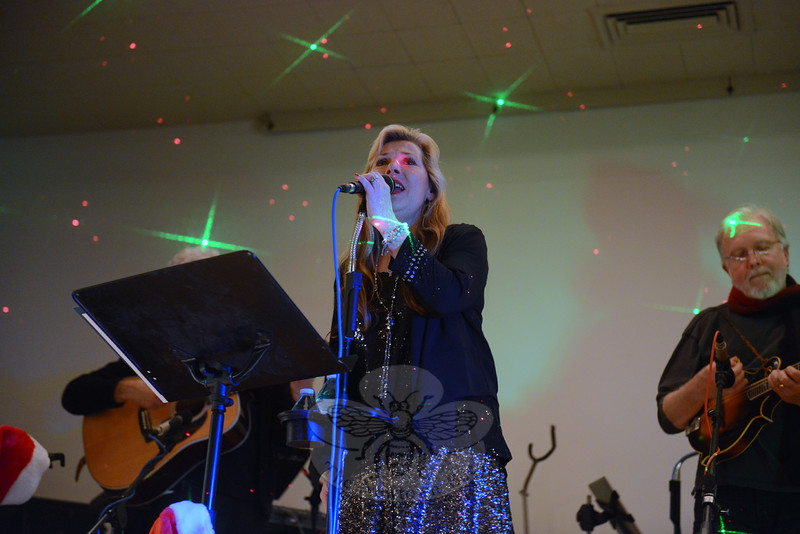 Mary Beth Sippin and the Goldrush Band perform at The Alexandria Room Saturday, December 6. (Bobowick photo)