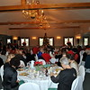 The banquet room at Michael's at the Grove in Bethel is filled with members of Newtown Senior Center, their friends, and family, for the December 9 annual  party. (Crevier photo)