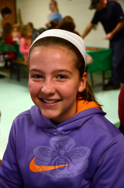 The Newtown Bee: What is your favorite holiday movie? Victoria Stevenson: Arthur Christmas. (Hallabeck photo)