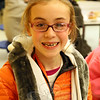 The Newtown Bee: What do you think the holiday season is all about? Ellie Arcario: Family and friends. (Hallabeck photo)