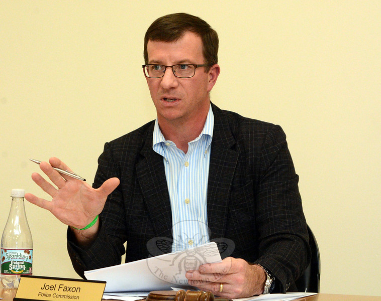 Democrat Joel Faxon, who was elected to his second four-year term on the Police Commission in the recent municipal elections, has been named chairman of the Police Commission. The Democrats now hold a 3-to-2 majority on that panel.  (Gorosko photo)