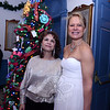 "Film buffs were invited to ""dress the part"" for the red carpet at the special screening of Gone With The Wind on November 30 at Edmond Town Hall. Mary Bennett and Karen Keating, right, brought a bit of glamour to the proceedings, even stopping for photos as they entered the theater.  (Bobowick photo)"