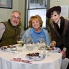 Among the guests at the February 8 wine and chocolate tasting were Shelton residents Rich and Kathy Meehan, who took tips about pairing their drink and appetizers from Donelle Toner of Grandma Jose's chocolate shop, right. (Bobowick photo)