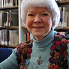 Beryl Harrison celebrates 25 years of service to the C.H. Booth Library this year. (Crevier photo)