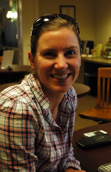 The Newtown Bee: What is one thing that always makes you happy? Whitney Goodman: My daughter, Holly. (Hallabeck photo)