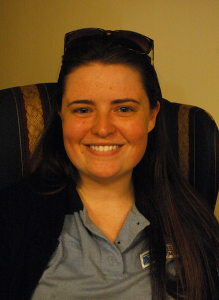 The Newtown Bee: What is one thing that always makes you happy? Meghan Castelot: Reading. (Hallabeck photo)