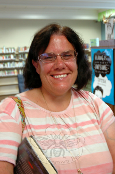 The Newtown Bee: What book would you recommend as a good summer read? Patty Cheh: Unwind by Neal Shusterman. Right now I am reading the sequel of Unwind called UnWholly. (Gaston photo)