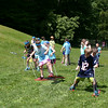 Just a few days before they cheered for the end of the school year, Middle Gate Elementary School students spent the day cheering for each other during the annual daylong day in the sun that is Field Day. Having been postponed from a rainy June 13, all of the school's students and most faculty members instead spent a sunny Monday, June 16, outdoors at the Cold Spring Road school. At least ten activity stations were set up in the playground and field areas behind the school, and students were able to participate at each one. The Buddy Walker Relay was not only a challenge for pairs of students against other teams, but also a study in coordination. (Hicks photo)