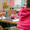 New and practiced knitters attended the Newtown Parks and Recreation's Knitting Camp. (Gaston photo)