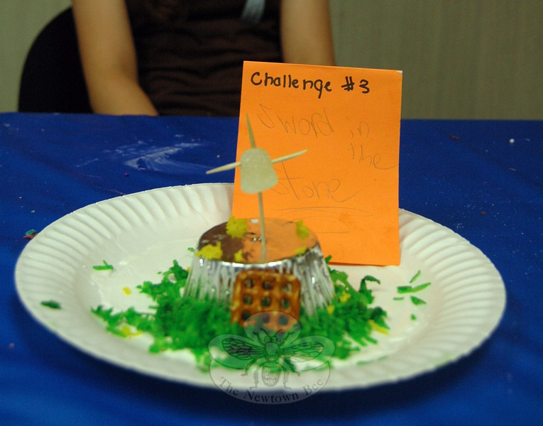 """Cupcake Wars contestant Lizzy Delp created a """"Sword in the Stone"""" entry for Challenge 3. (Fimmano photo)"""