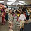 Dressed to reflect their team characters on July 11 were students and adults participating in a spelling bee-style event loosely based on the popular Broadway show The 25th Annual Putnam County Spelling Bee. Last weekend's event at Newtown High School was presented by NewArts, a division of The 12.14 Foundation. It doubled as a fundraiser for the foundation hoping to eventually build a performing arts center in Newtown while continuing to foster a continued strengthening of the community. (Bobowick photo)