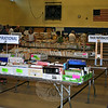 Empty tabletops in the paperback section of the Friends of the C.H. Booth Library Annual Book Sale Monday morning exemplify the busy weekend. Plenty of books, DVDs, and CDs were still available for sale, however. The sale continued until Wednesday, July 16. (Crevier photo)