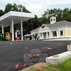As seen from the intersection of Church Hill Road and Edmond Road, the Wheels gas station/convenience store at 67 Church Hill Road is expected to open soon. (Gorosko photo)