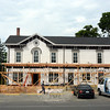 An extensive renovation project was underway this week at 33 Main Street where office space and a restaurant to be known as Dere Street are planned. (Gorosko photo)