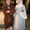 Cameron Bell, who plays the title role in Liberty Smith, poses with co-star Rachel Rival, portraying Emily in the historical comedic musical being staged by NewArts, a division of The 12.14 Foundation this weekend at Newtown High School. Director Michael Unger said this week that the version of the show he adapted for his local summer theater troupe may be heading to New York for its next run. (Bee Photo, Voket)