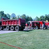 Hawley Elementary School held its Field Day on Friday, May 29. For the event, Newtown Hook & Ladder Co. #1 and Kowalsky Bros Inc had trucks on display for students. (Hallabeck photo)
