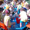 Hawley Elementary School held its Field Day on Friday, May 29. At one station, students collected marbles in a kiddy pool with their toes. (Hallabeck photo)
