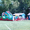 Hawley Elementary School held its Field Day on Friday, May 29. During the day a Adrenaline Rush 2 inflatable obstacle course was set up. (Hallabeck photo)