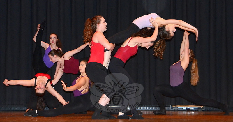 """The """"Power of Purple"""" arts festival at Reed School June 6, a pre-event fund and awareness raiser for the 2015 Newtown Relay For Life, included performances by members of the Newtown Centre for Classical Ballet & Voice. (Voket photo)"""