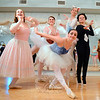 "Newtown Centre of Classical Ballet (NCCB) will present two performances of Sleeping Beauty onstage at Edmond Town Hall on Sunday, June 21. The special Father's Day performances will be offered at noon and 3 pm. The special event will also include a flower sale, bake sale, and concession stand. Admission is free, but tickets are available for those who wish to guarantee seating. Seating for both performances will otherwise be first-come, first-served. Sleeping Beauty is ""great for a ballet,"" said Tory Gozzi, owner and artistic director of the South Main Street dance studio. She has read the story and introduces the main characters to her students and showed them how the story ""adapted into the ballet, and it's nice too, the way ballet is structured. ""Other fairy tale characters attended Sleeping Beauty/Aurora's wedding, like Little Red Riding Hood, Puss In Boots, and Cinderella,"" she pointed out. The story will be slightly shortened to fit into a 90-minute staged performance. Tickets are available at the NCCB studio, at 87 South Main Street. Contact Ms Gozzi at 203-241-5362 or torygozzi@gmail.com, or visit nccballetandvoice.com for additional information. Among the fairy tale characters who attend Aurora/Sleeping Beauty's wedding to the prince are, standing from left, Cinderella (played by Hannah Halloran), Princess Cormallen (Arline Almeter), The White Cat (Julia Finegan), Puss In Boots (Kylee Raiano), and, in a curtsy, Bluebird (Rebecca Spalvieri). (Bobowick photo)"