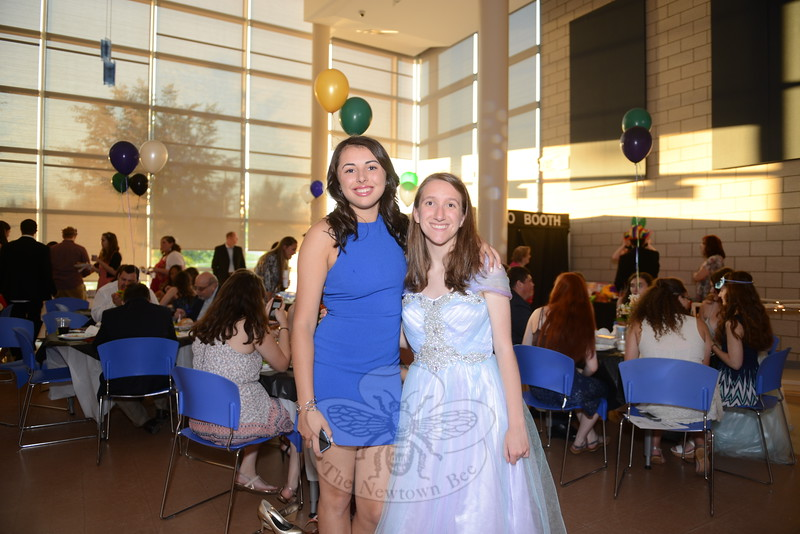 Charlotte Gray, left, takes time out for a photo with Buddy Ambassador Julie Smith. (Bobowick photo)