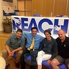 """REACH Program Coordinators, from left, Adam Carley, Jeff Tolson, Lindsay Carley, and Charles """"Cap"""" Pryor sat together on Thursday, June 4.(Gallagher photo)"""