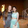 Best Buddies Executive Board President Rachel Crosby, left, and Katie Mascher enjoy the 2015 prom, which was celebrated June 6 at Newtown High School. (Bobowick photo)