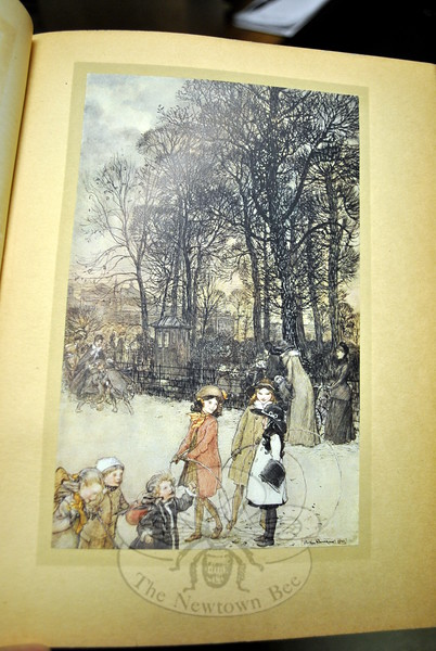 Books illustrated by Arthur Rackham are coveted by collectors. (Crevier photo)