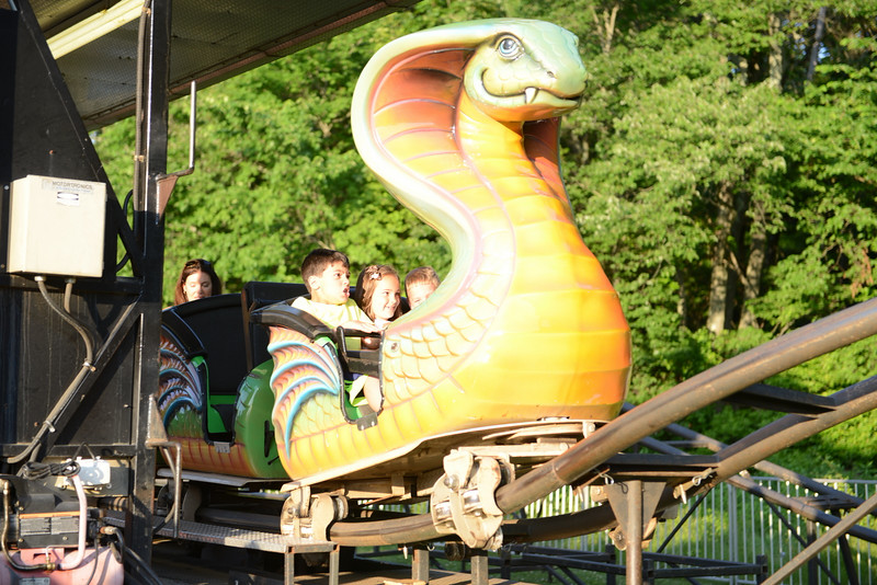The St Rose Parish Carnival offers rides for all ages.  (Bobowick photo)