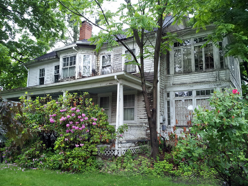 This residence at 48 Main Street is subject to town action under its blight ordinance. (Voket photo)