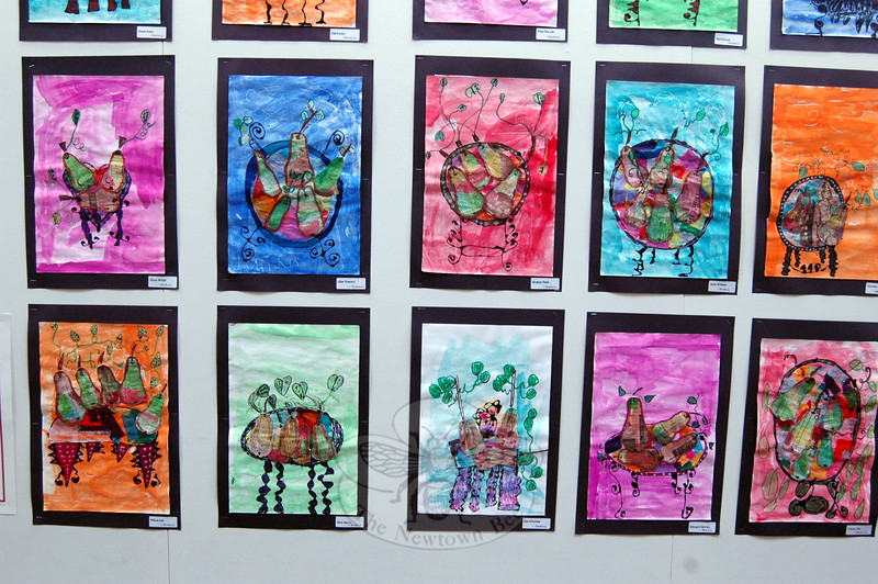 Head O' Meadow's School of Art Gallery 2015 event was held during the evening of Wednesday, May 20. Student artwork from each of the grades at the school were on display for parents, family, and friends to see. (Hallabeck photo)
