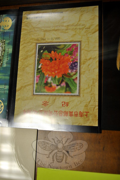"Stamps produced like postage stamps, but never intended to be used for mailing by a postal authority are known as ""Cinderella"" stamps, and are the focus of certain stamp collectors. This ""Cinderella"" is from China. (Crevier photo)"
