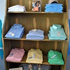 The CargoIt line of canvas bags, bottom shelf, are popular with men seeking to avoid the overnight duffel bag look, and who appreciate the modern trend of menswear from Southern Tide. (Crevier photo)