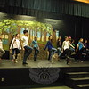 Newtown Middle School students in the school's March 27 to March 29 production of Shrek The Musi-cal Jr, rehearsed on Monday, March 9. (Hallabeck photo)