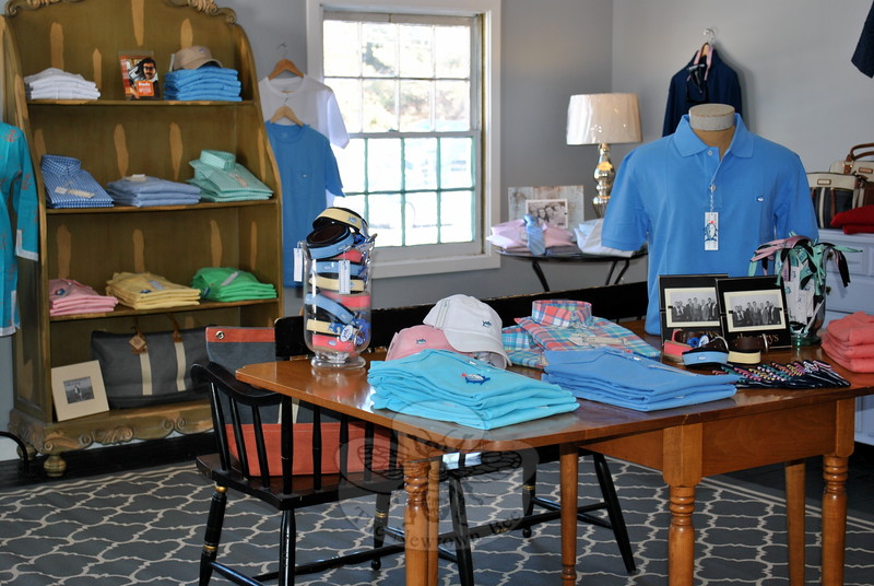 The second floor of Newbury Place in Southbury now features the Southern Tide line of menswear, appealing to an often overlooked male population of shoppers. (Crevier photo)