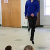 Dancers from The Gray School of Irish Dance visited Wesley Learning Center on March 9 to offer a pre-St Patrick's Day dance performance. Craig Ashurt, a former Riverdance and Lord of The Dance performer as well as a professional dancer with a number of national titles to his credit, wowed children and their teachers with his fabulous footwork last week. (Hicks photo)