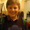 The Newtown Bee: Why should people go see Newtown Middle School's production of Shrek The Musical Jr, showing March 27 to 29? Jackson Mittleman: Because it's different than anything we have done before. They have mostly been [shows that have been] more seen, and this is newer to school theaters. (Hallabeck photo)