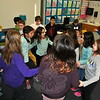 "Students in Hawley Elementary School fourth grade teacher Gina Shanahan's class danced on Friday, February 20, after learning they were the class that filled out the most Support Kindness in Peers (SKIP) cards. A special ""Feel Good Friday Dance Party"" was shared over the loudspeaker for the school to all celebrate filling out the cards. (Hallabeck photo)"