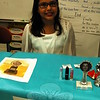 Middle Gate Elementary School fourth graders presented their Living Biographies projects on Friday, May 1. Each student represented their person they studied during the event. Colette Burke studied Rosalind Russell. (Hallabeck photo)