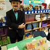 Middle Gate fourth grader Connor Dullinger portrayed Martin Luther King, Jr, for his Living Biographies project. (Hallabeck photo)