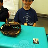Middle Gate Elementary School fourth graders presented their Living Biographies projects on Friday, May 1. Each student represented their person they studied during the event. Braden Murphy studied Jackie Robinson. (Hallabeck photo)