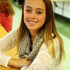 The Newtown Bee: What are you thankful for? Bella Milczarski: My friends and family. (Hallabeck photo)